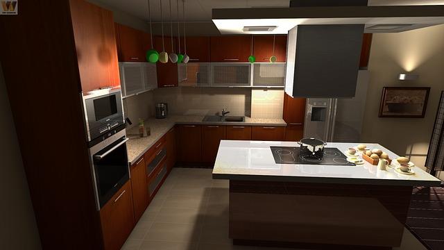 kuchyně, sporák