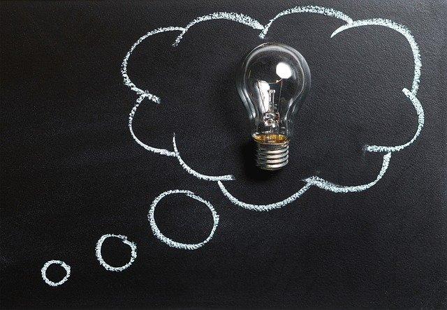 značka myšlenky