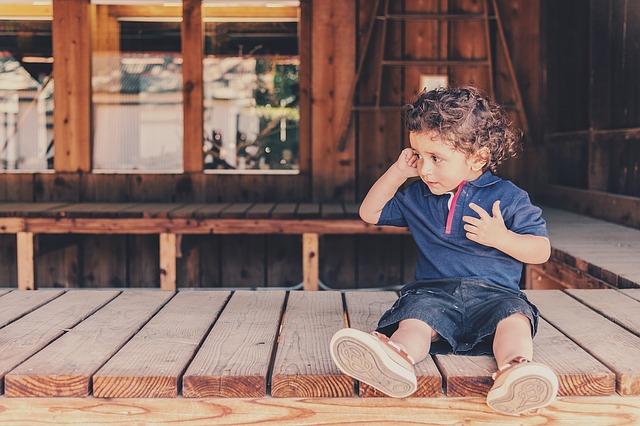 děťátko ve stodole