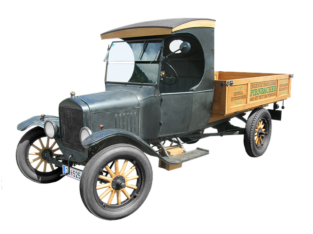 historický nákladní automobil