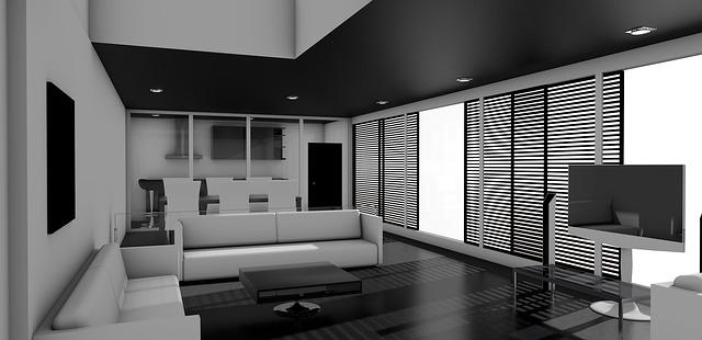 místnost interiér