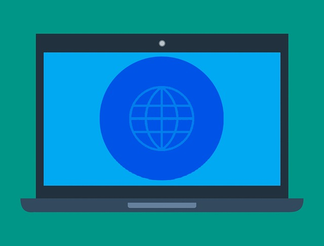 Země na monitoru
